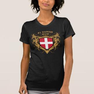 Number One Danish Mom T-Shirt