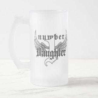 Number One Daughter Glass Mug