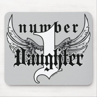 Number One Daughter Mousepad