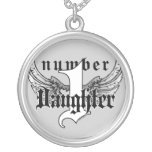 Number One Daughter Necklace