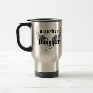 Number One Daughter Travel Mug