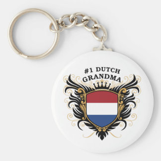 Number One Dutch Grandma Key Ring