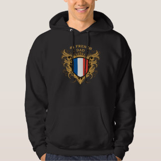 Number One French Dad Hoodie