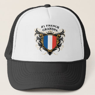 Number One French Grandpa Trucker Hat