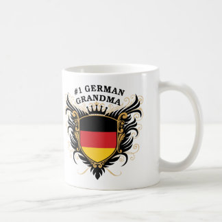 Number One German Grandma Basic White Mug