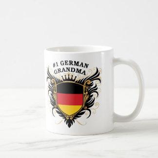 Number One German Grandma Coffee Mugs