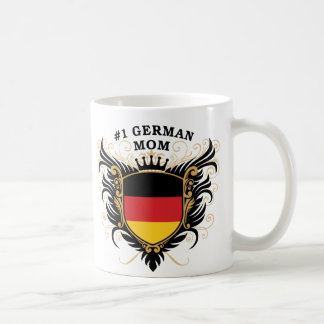 Number One German Mom Basic White Mug