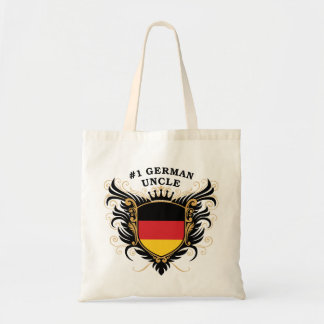 Number One German Uncle Canvas Bags