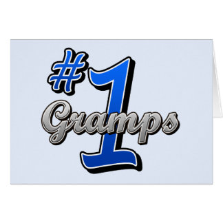 Number One Gramps Cards