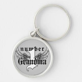 Number One Grandma Key Chain
