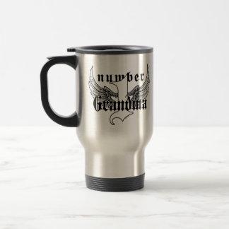 Number One Grandma Travel Mug