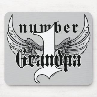 Number One Grandpa Mousepad