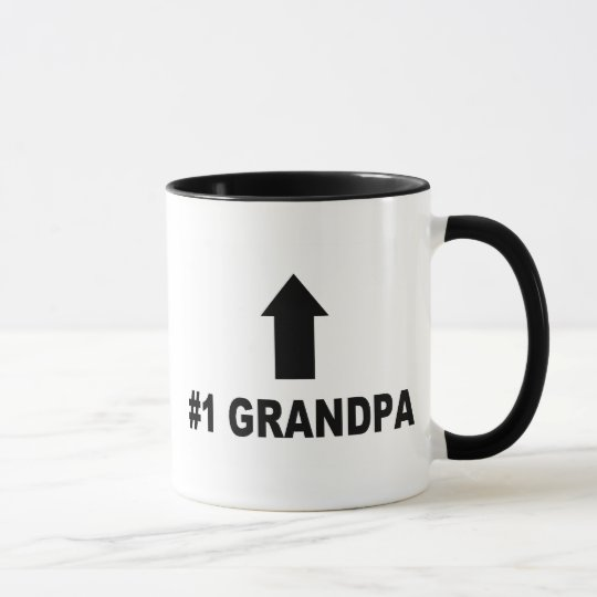 Number One Grandpa Mug