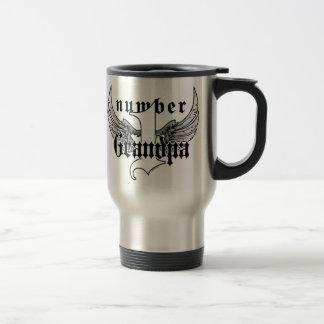 Number One Grandpa Travel Mug