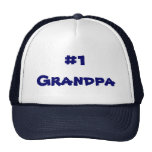 Number One Grandpa Trucker Hat