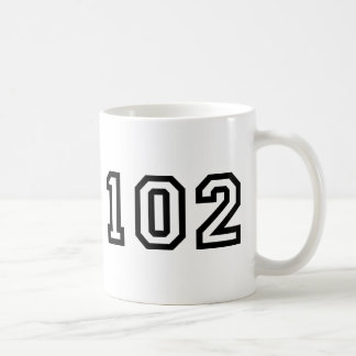 Number One Hundred and Two Coffee Mug