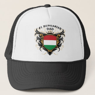 """Number One Hungarian Dad"" Trucker Hat"
