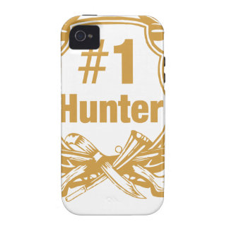 Number One Hunter - #1 iPhone 4 Cases