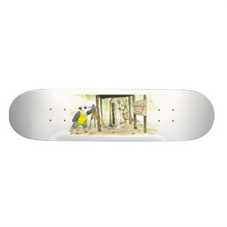 number one icon skate board deck