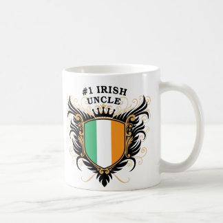 Number One Irish Uncle Basic White Mug