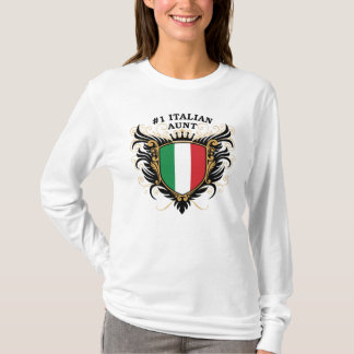 Number One Italian Aunt T-Shirt