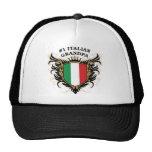Number One Italian Grandpa Hat