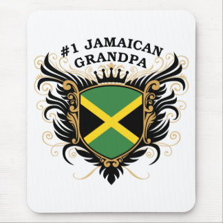 Number One Jamaican Grandpa Mouse Mat