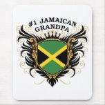 Number One Jamaican Grandpa Mousepads