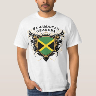 Number One Jamaican Grandpa T-Shirt