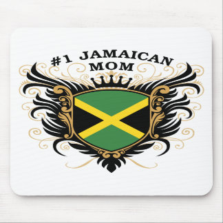 Number One Jamaican Mom Mousepads