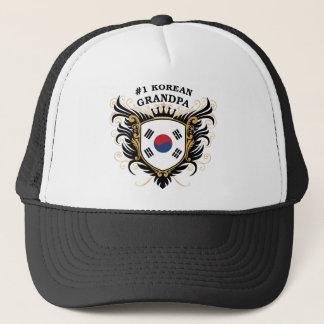 Number One Korean Grandpa Trucker Hat