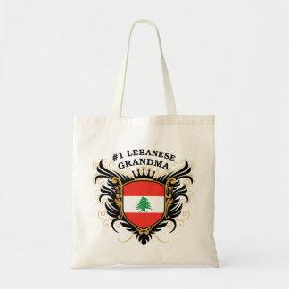 Number One Lebanese Grandma Canvas Bag