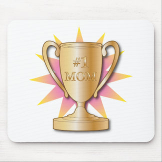 Number One Mom Mouse Pad
