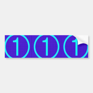 NUMBER ONE n GRADE A Motivational GIFTS for KIDS Bumper Sticker