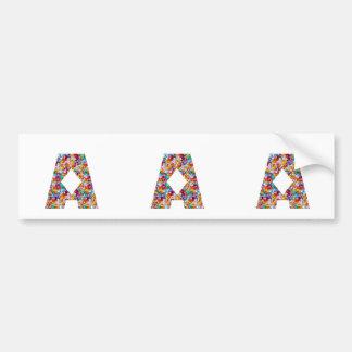 NUMBER ONE n GRADE A Motivational GIFTS for KIDS Bumper Sticker