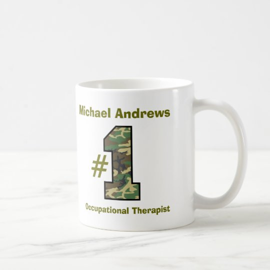 Number One Occupational Therapist V56 Coffee Mug