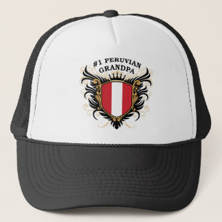 Number One Peruvian Grandpa Trucker Hat