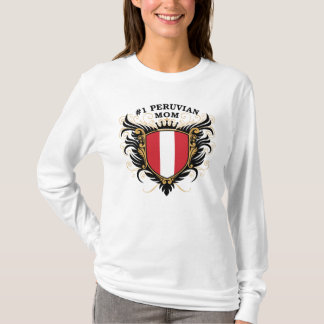 Number One Peruvian Mom T-Shirt
