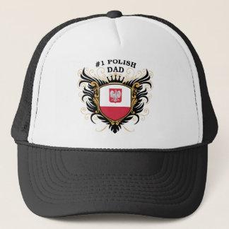 Number One Polish Dad Trucker Hat