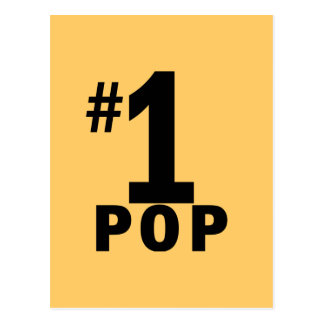 Number One Pop Products Postcard