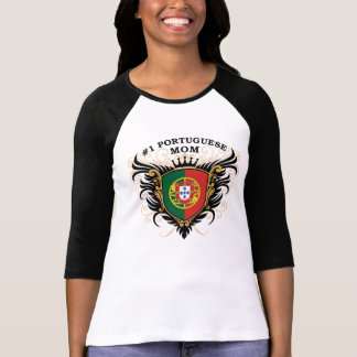 Number One Portuguese Mom T-Shirt