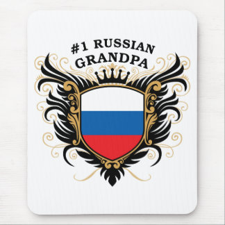 Number One Russian Grandpa Mouse Pad
