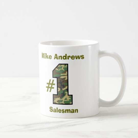Number One Salesman V13 Coffee Mug