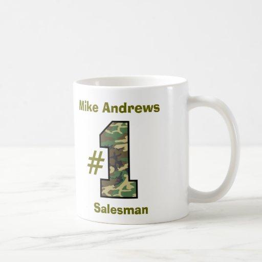 Number One Salesman V13 Coffee Mugs