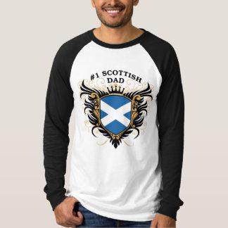 Number One Scottish Dad T-Shirt