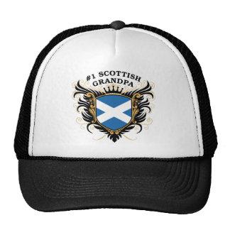 Number One Scottish Grandpa Mesh Hat