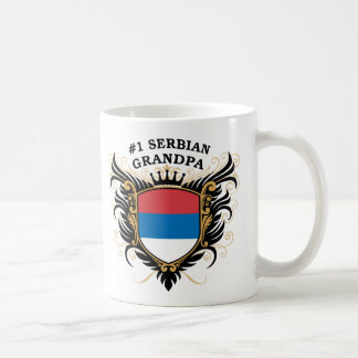 Number One Serbian Grandpa Coffee Mug