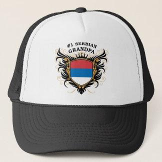 Number One Serbian Grandpa Trucker Hat