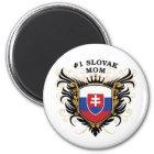 Number One Slovak Mum Magnet