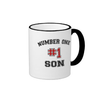 Number One Son Ringer Mug